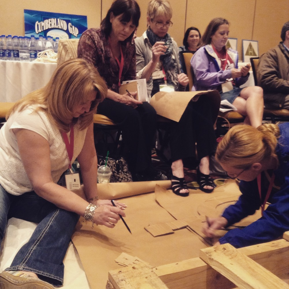 Powers and Sedig at Hands-On Workshop