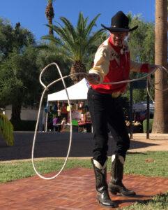 Dr. Buck's Wild West Show: Cowboy Steve