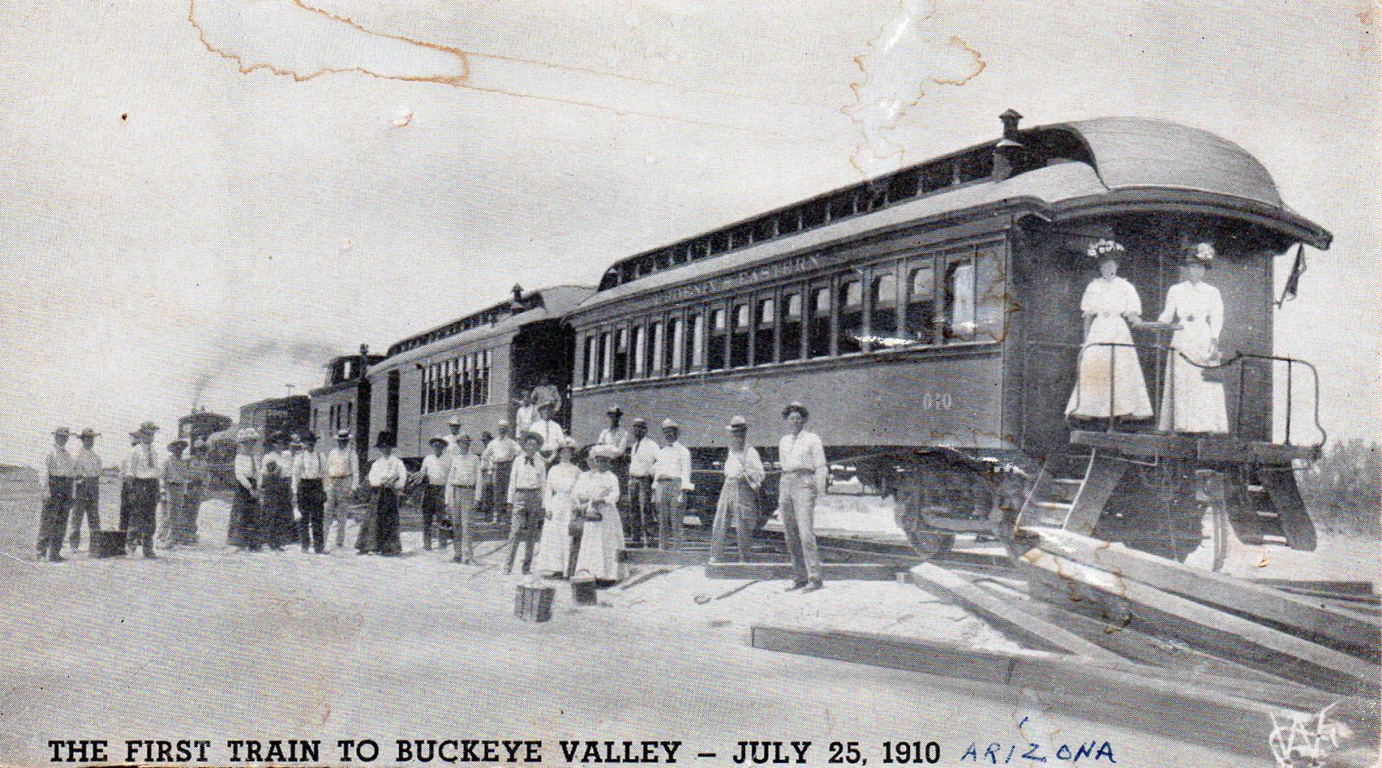 First Train to Buckeye Valley, Arizona