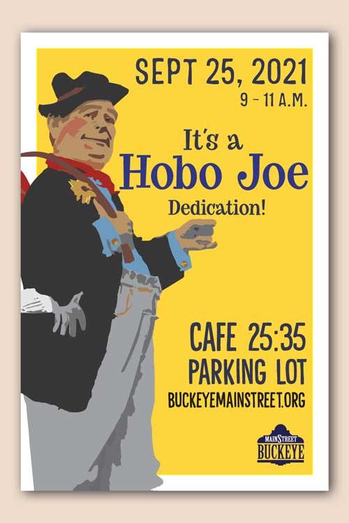 Hobo Joe Dedication Poster Downtown Buckeye Arizona